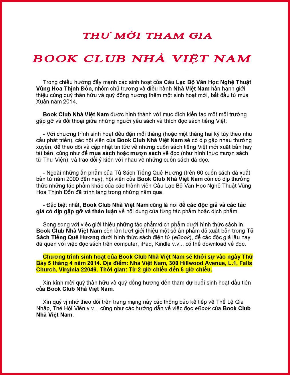 thu Moi book club red
