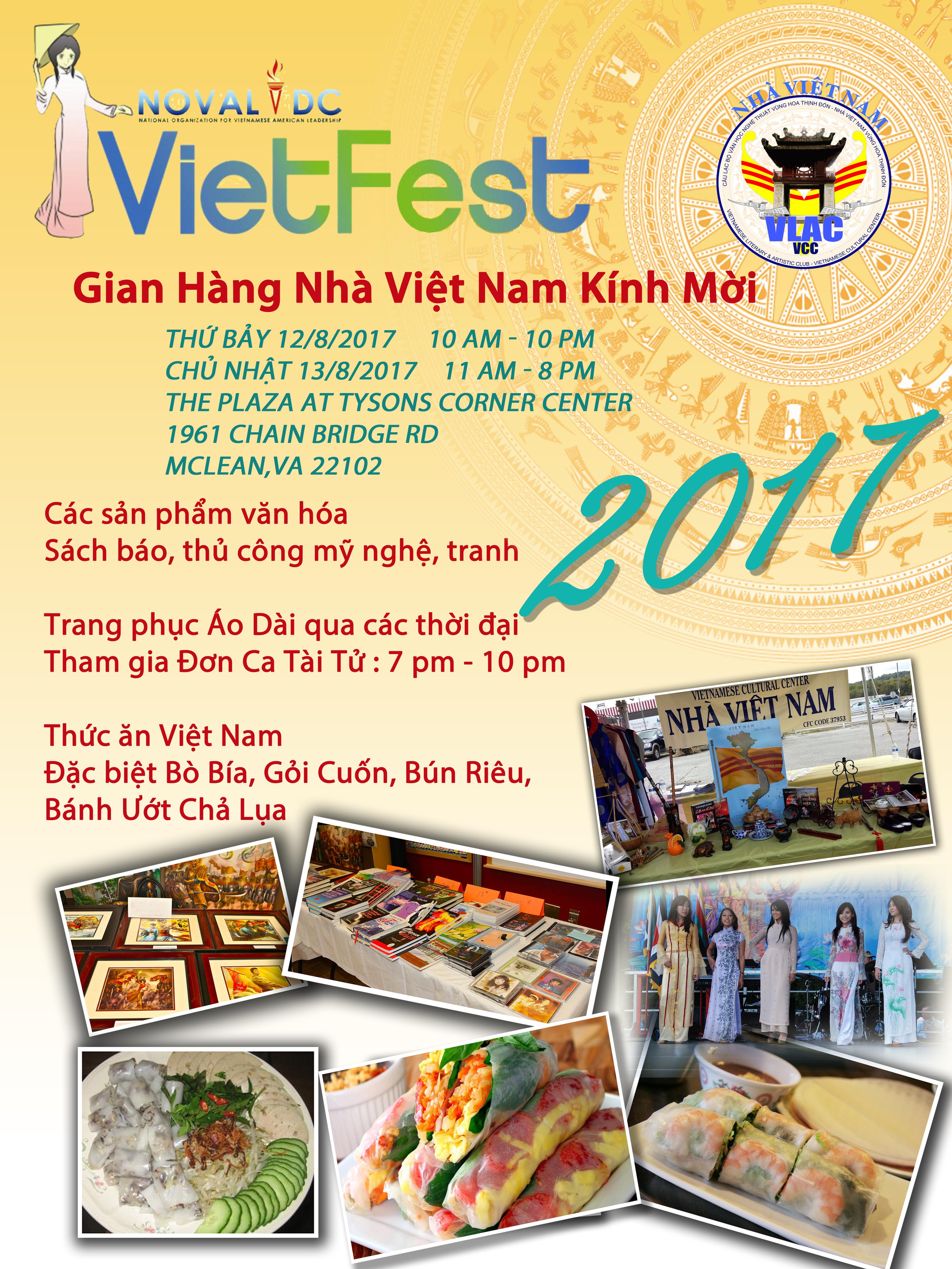 Flyer Vietfest 2017