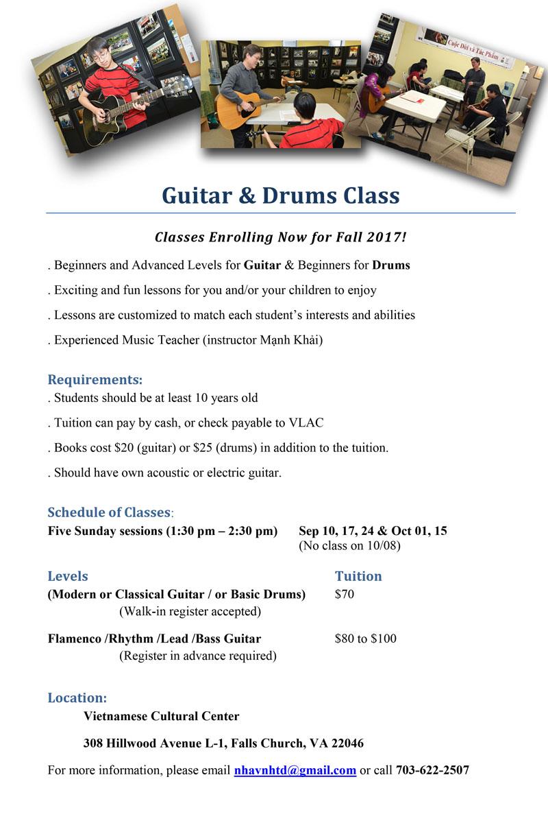 Guitar class Autumn